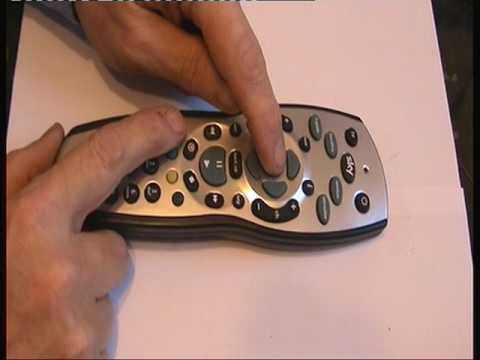 How to put the TV code into a sky remote control