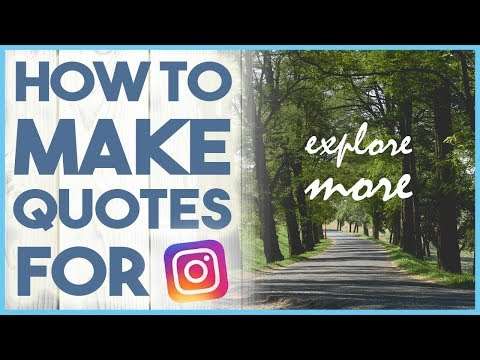 😃 HOW TO ADD TEXT TO IMAGES / QUOTES FOR INSTAGRAM - WORDSWAG TUTORIAL 😃