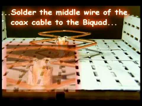 How to build a wifi antenna (Bi-Quad)