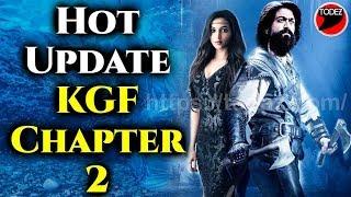 #KGFCHAPTER2 Latest Hot News Update   Yash , Raveena, SanjayDutt