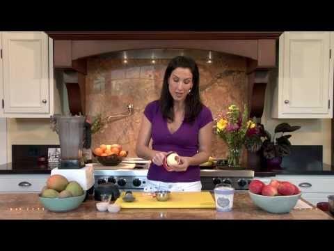 Apple Pie & Ice Cream Smoothie: Raw Food Recipe