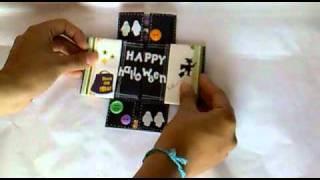 Esta tarjeta la hice para el reto de Sweet Card del mes de Octubre del 2010 y se las comparto a quien quiera verla!