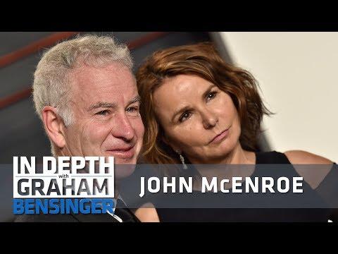 John McEnroe: Wife offered me 2nd lease on life