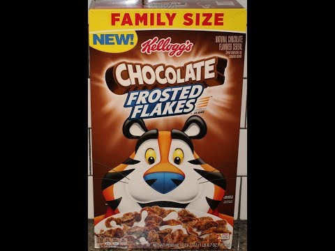 Kellogg's Chocolate Frosted Flakes Cereal Review