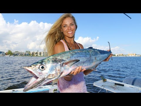 Deep Sea Fishing For KING MACKEREL Using Live Bait!