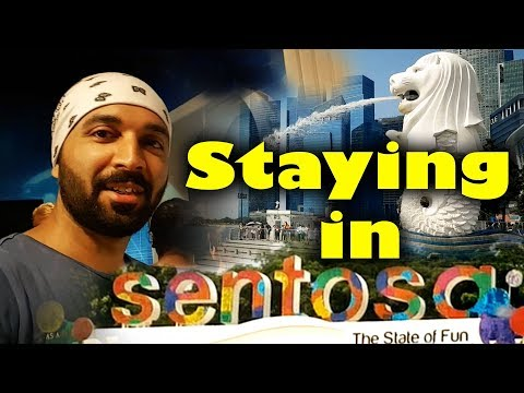Sentosa Island | Visit Singapore | Travel Vlog | The Hunger Blogger