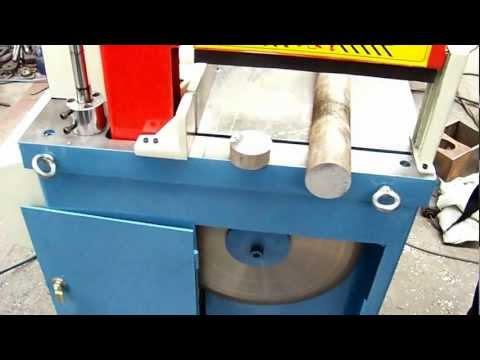 Aluminum Pipe and Bar Cutting Circular Sawing Machine.MOV