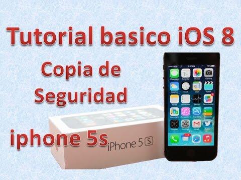 Tutorial y Guía de uso Iphone 5s parte 91 copia de seguridad iphone