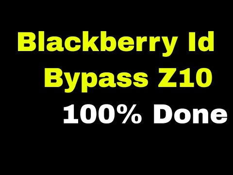 Blackberry 10 Anti Theft Protection Removed Successfully/ID BlackBerry Z10 And All other