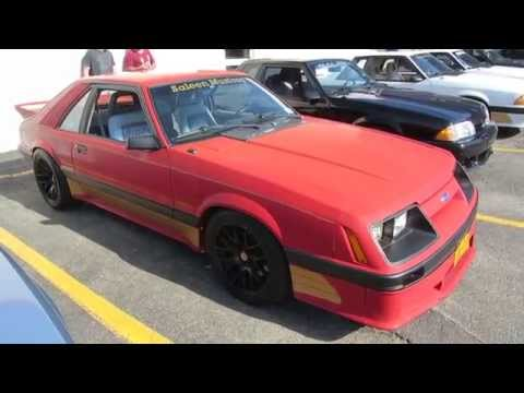 Ford Fox Body Saleen Mustangs At Ramp Ford Car Show Port - Ramp ford car show
