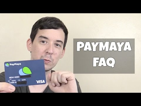 Paymaya Prepaid Visa PH - FAQ