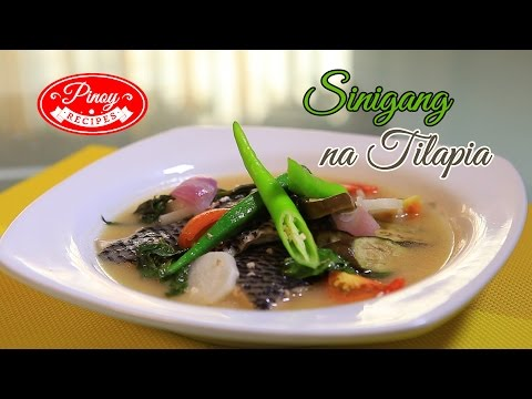 Sinigang na Tilapia Pinoy Recipe : How to cook Sinigang na Tilapia | Pinoy Recipes