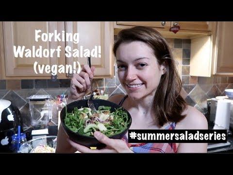 Forking Waldorf Salad! (vegan!) #summersaladseries