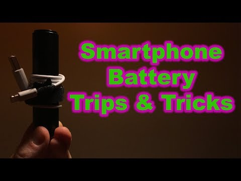 Smartphone Battery Tips and Tricks for iPhone or Android
