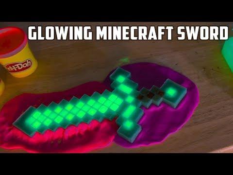 DIY Glowing Diamond Minecraft Sword