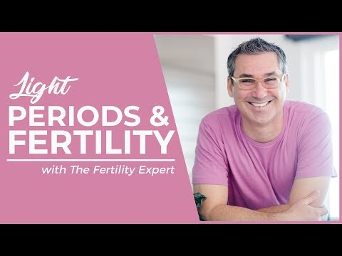 Do you have light periods and are trying to get pregnant?