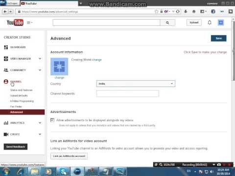 Enable Monetize On Your Videos For Youtube 2015