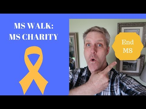 MS Walk: MS Charity for the MS Society