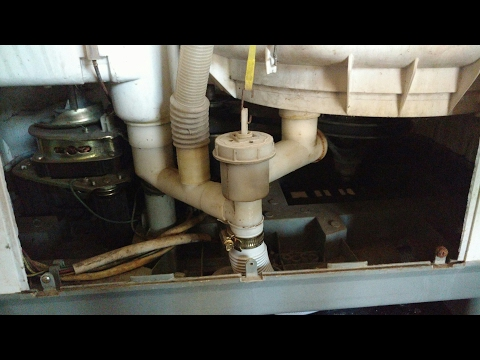 How to replace washing machine drain pipe self