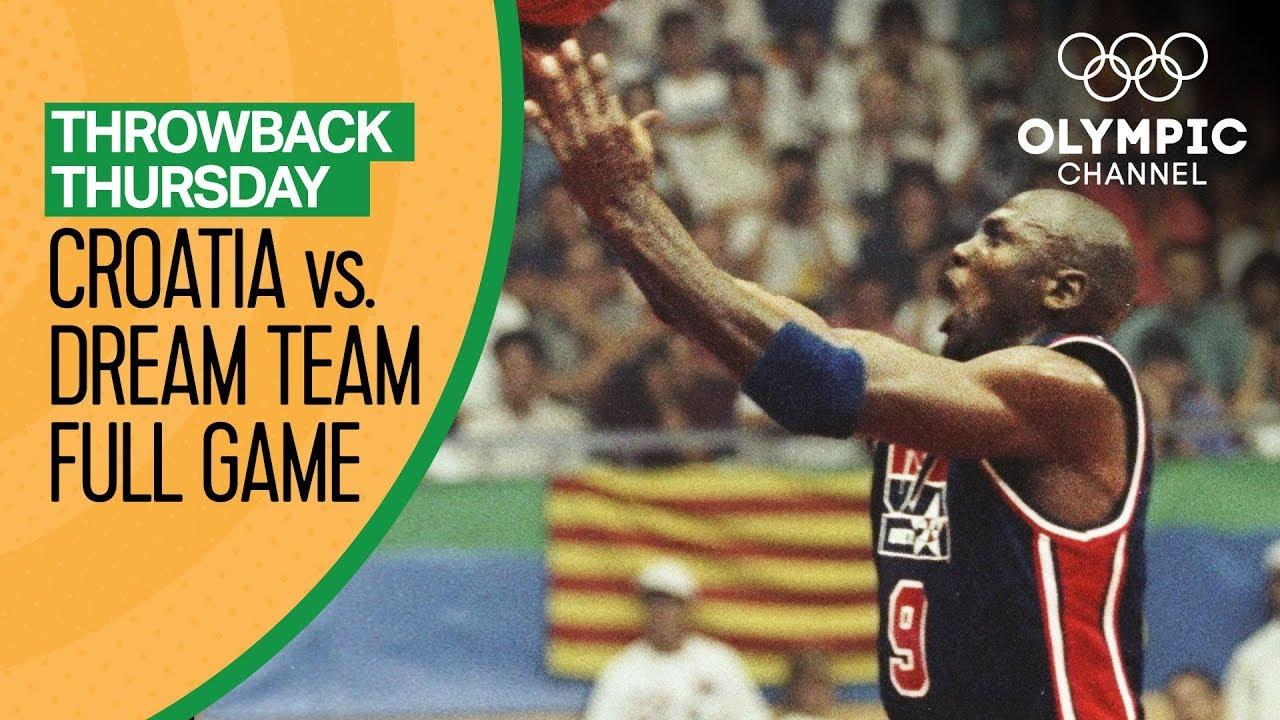 Croatia vs. USA ft Michael Jordan & The Dream Team - Basketball Replays   Throwback Thursday