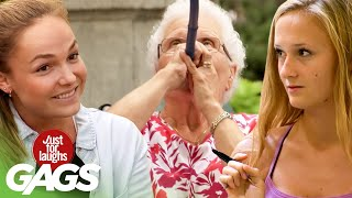 Best of Old People Pranks Vol. 3 | Just For Laughs Compilation