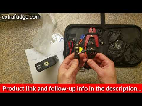 Review of the Superpow 1200A Peak car jump starter