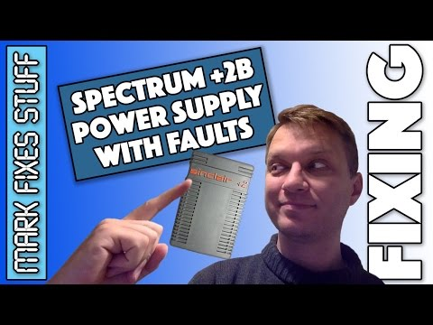 Sinclair Spectrum 128k +2A/B Power Supply (PSU) - Common Cause of Failure
