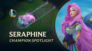 Seraphine Champion Spotlight | Gameplay - League of Legends