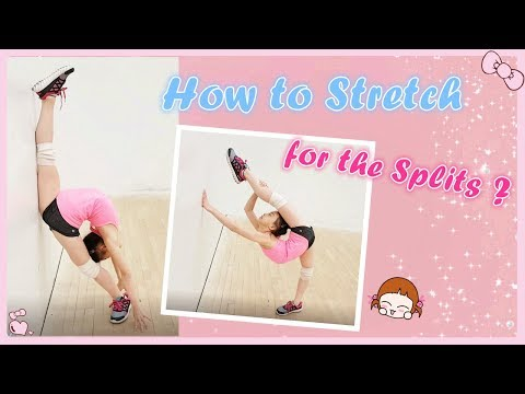 How to Stretch for the Splits ? | RG Selena