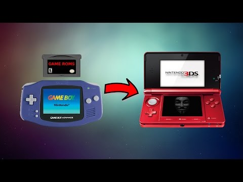 How to Play Game Boy Advance Games as 3DS Virtual Console Games for Free (3DS/2DS/New3DS) (CFW)