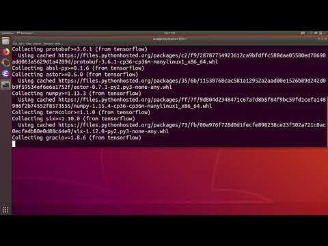 Python Import Error ModuleNotFoundError: No Module Named Keras In Ubuntu Linux