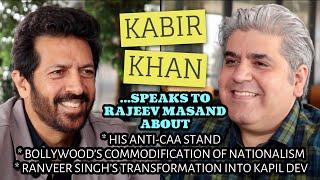 Kabir Khan interview with Rajeev Masand I CAA I 83 I The Forgotten Army