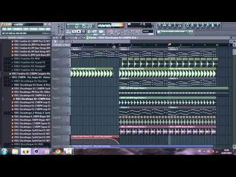 How to make a Nice Progressive House Track (Build Up & Drop) in Fl Studio + FLP