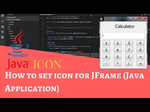 How to set icon for JFrame (Java Application)