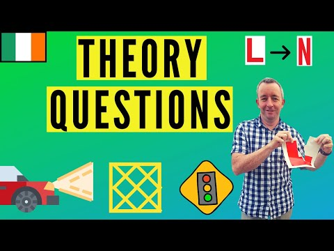 Rules of the road Ireland- Theory Questions for the Driving Test
