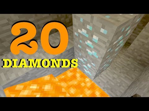BEST Seed in Minecraft Xbox One 20 DIAMONDS and MORE!