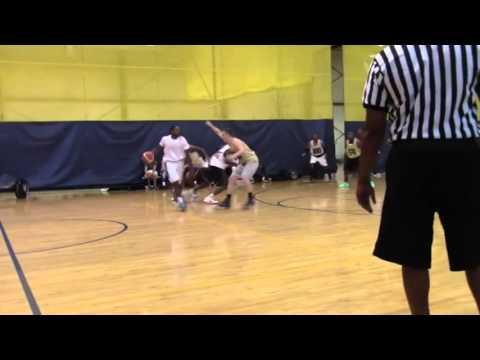 Gerald Jackson 2015 Las Vegas Combine International Professional Basketball Scouting