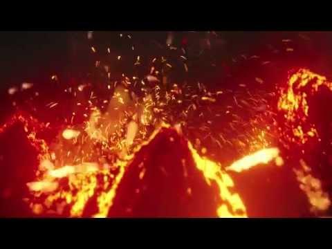 Large Scale Volcano Eruption in Blender!