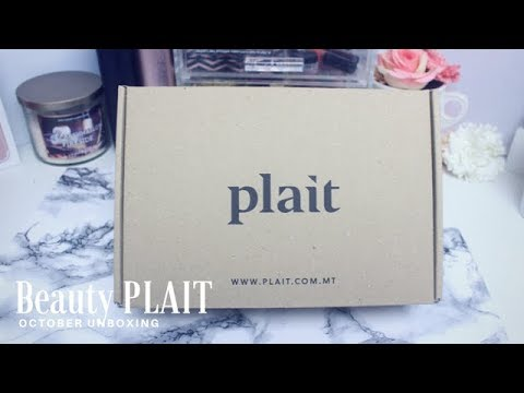 Unboxing Malta's First Beauty Box by Plait  😍💄