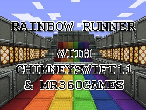 We Are Rainbow Runners :: Minecraft Mini Game