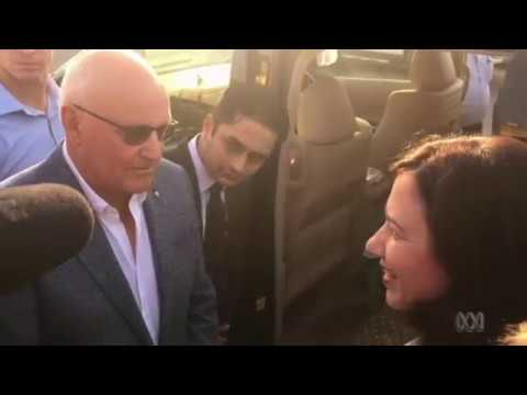 Premier Annastacia Palaszczuk confronted in India by Australians opposed to Adani coal mine