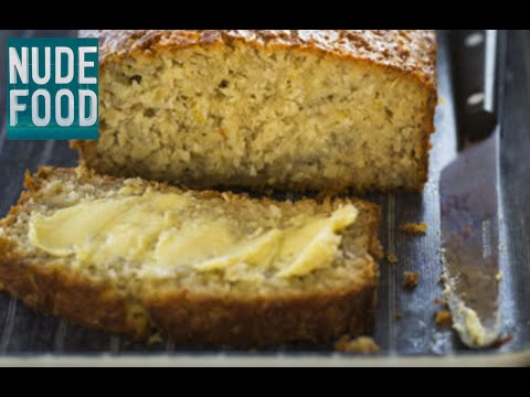 How to make gluten-Free Banana, Coconut and Lemon Loaf