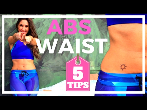 Get a Flat Stomach and Slim Waist in 30 days | Standing Abs Exercises