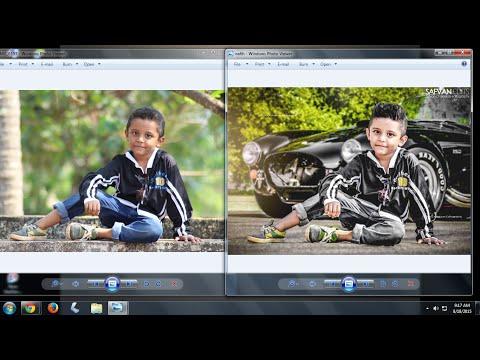 Photoshop photo editing
