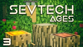 SevTech: Ages EP2 Leather Tipi Time