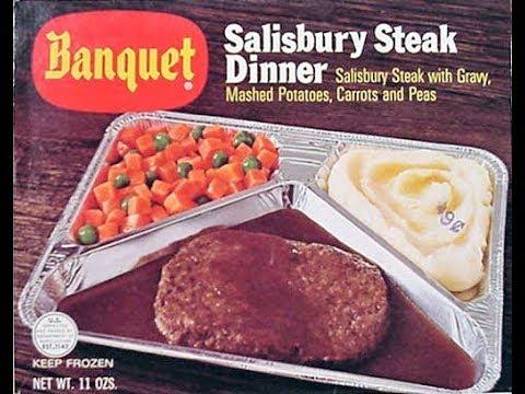 1970's tv dinner salisbury steak but THE REAL RECIPE