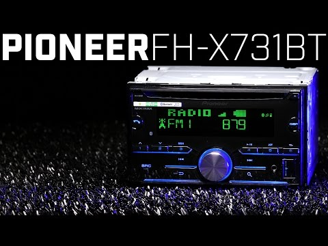 Pioneer FH-X731BT Double Din Bluetooth Stereo - 2016 Review