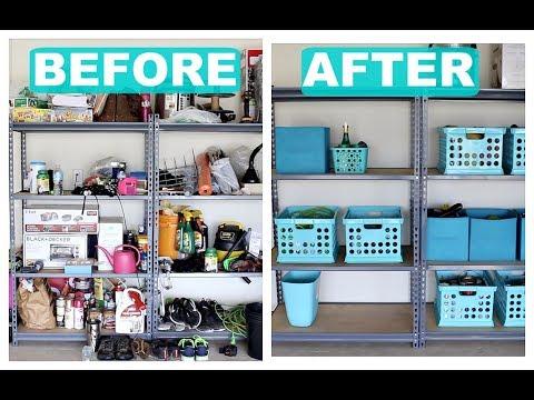 Garage Organization | Organize With Me