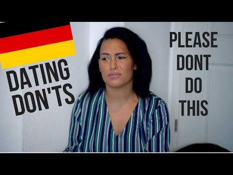 HOW NOT TO DATE IN GERMANY