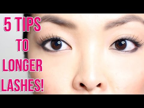 HOW TO: Grow Your Eyelashes Faster!